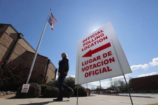 Texas ha sido una de las entidades en las que más  votos anticipados  se han emitido para la actual elección, con  más de 9 millones , cifra que ya superó el acumulado de sufragios emitidos en 2016. AP.