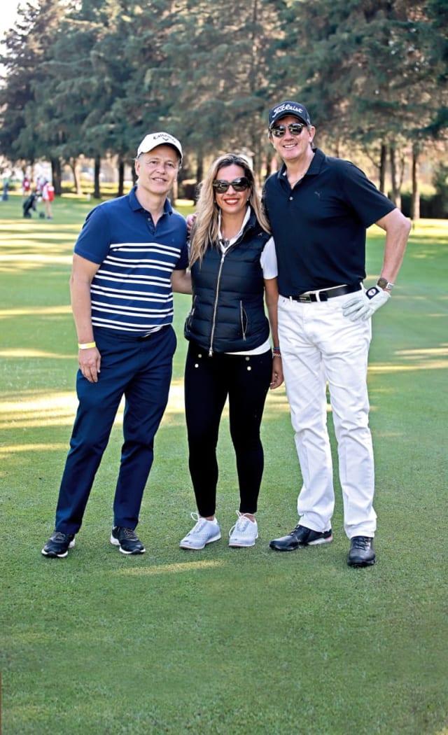 Francisco Bosch, Mariana Hughes y Félix Ramírez